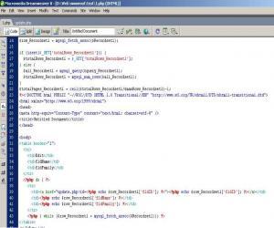 <b>تعیین لینک ویرایش در فایل اطلاعات اول</b><br />