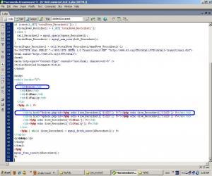 <b>ویرایش فرم نمایش اطلاعات برای افزودن فیلد حذف رکورد</b><br />